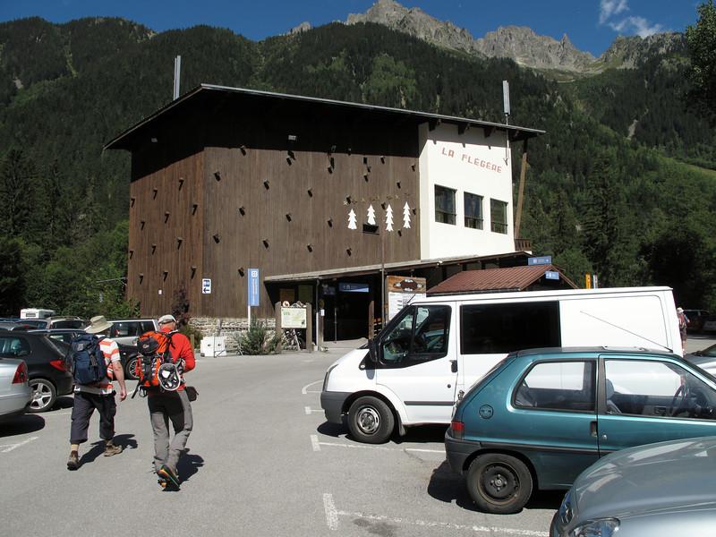 Cable station La Flégère, Les Praz