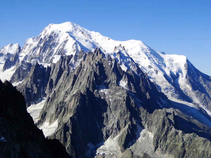 Mount Blanc massif 4810m