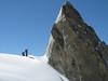 Climbing the Dent du Géant 4013m Route: Refuge Torino, Italy 3338m - Arête de la Rochefort 3928m ( Rochefort ridge)