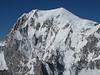 View at Mont Blanc 4810m, Route: Refuge Torino, Italy 3338m - Arête de la Rochefort 3928m ( Rochefort ridge)