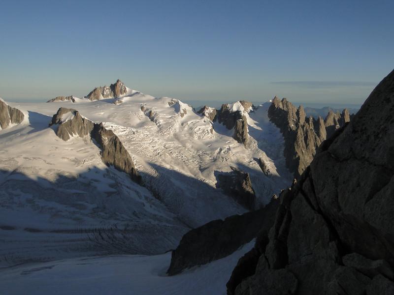 Refuge Torino, Italy 3338m - Arête de la Rochefort 3928m ( Rochefort ridge)