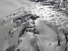 Glacier du Géant.   Helbronner 3462m - Aiguille du Midi 3842m (Telecabine Vallée Blanche)