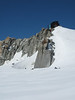 """Refuge des """"Cosmiques"""" 3613m Route Aiguille du Midi 3842m - Refuge Torino, Italy 3338m"""