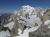 Mont Blanc massif, Route: Refuge Torino, Italy 3338m - Arête de la Rochefort 3928m ( Rochefort ridge)