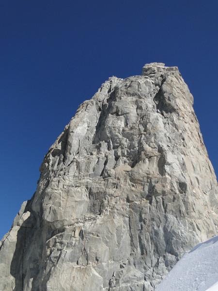 Dent du Geant 4013m, Route: Refuge Torino, Italy 3338m - Arête de la Rochefort 3928m ( Rochefort ridge)