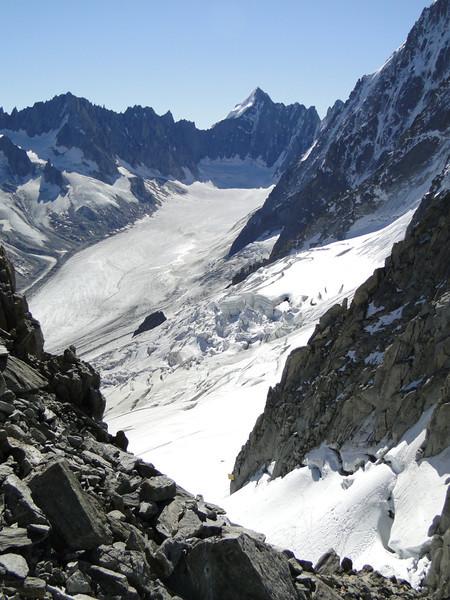 Mont Dolent 3819m, three countries border mountain