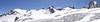 Aiguille du Midi 3842m - Refuge Torino, Italy 3338m