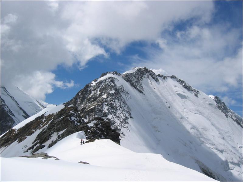Dom de Miage 3870m. from Col de Miage 3367m. (montblanc2005)