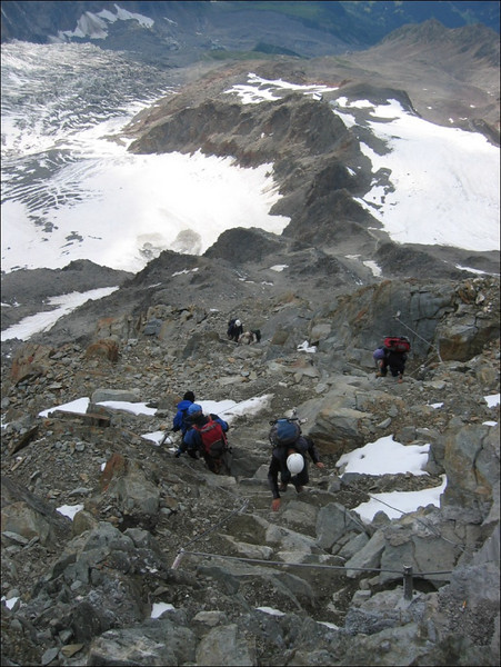 16 July 2.00 AM bad weather = No Mount Blanc in 2005 (montblanc2005)