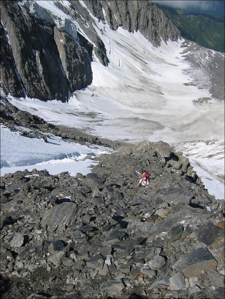 ascent Col de Miage 3367m. (montblanc2005)