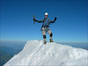 summit of Aig. de Bionnassay 4052m. (montblanc2005)