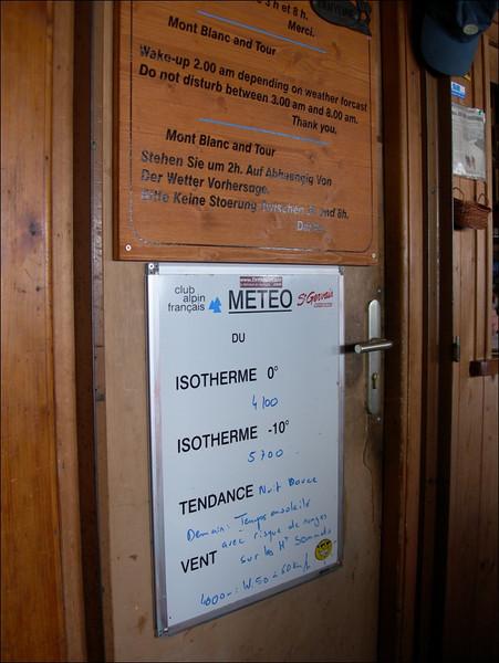 Meteo message   ....  Bad weather! (montblanc2005, Ref. de I' Aig. du Gouter 3817m.)