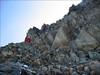 descent to Ref. de Tete Rousse 3167m. (montblanc2005)