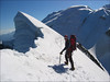descent Aig. de Bionnassay 4052m. and ascent Piton des Italiens 4002m. (montblanc2005)