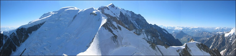 panorama with Mont Blanc massif (montblanc2005)