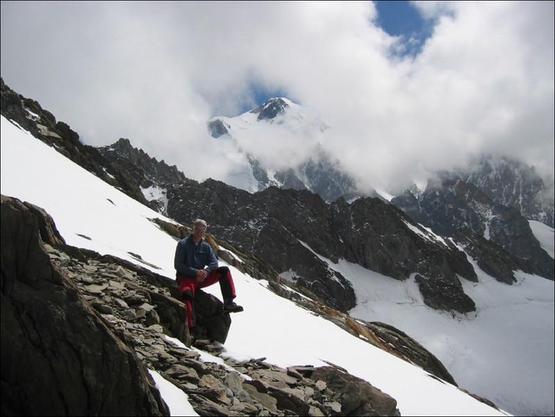 13 July rest day,  Col de Miage 3367m. (montblanc2005)