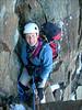 Rockclimbing to P.3712  ascent Aig. de Bionnassay 4052m. (montblanc2005)