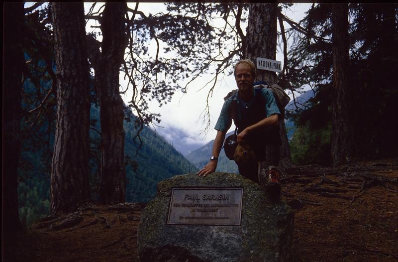 National Park Switzerland (Paul Sarasin plaquette)