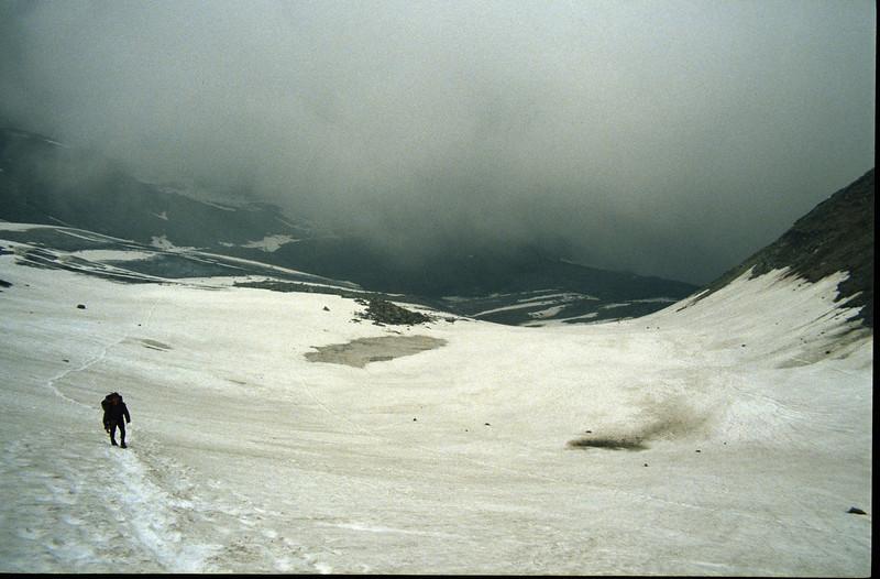 accend to Litzner sattel 2737m.