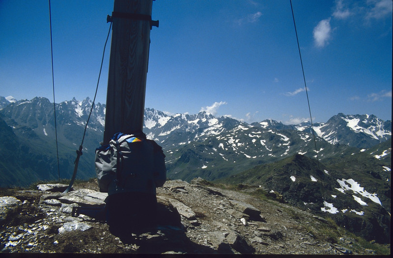Madrisella 2466m. (Silvretta juli 1986)