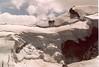 descent  North Face  Allalinhorn 4027m. - Mittel Allalin 3454m. (Wallis, Mischabel 2003)