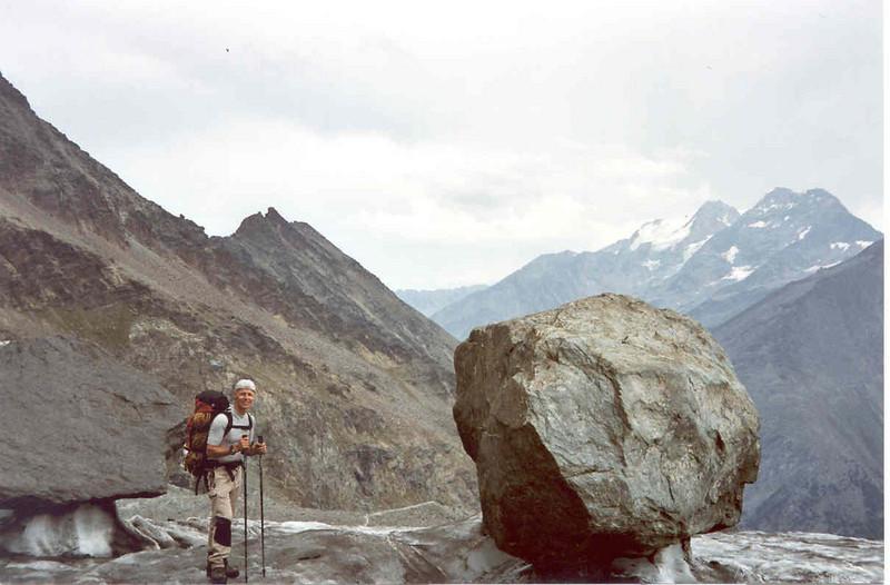 8 Aug.  Rotenboden 2815m.Gornergrat -  Monte Rosa hutte 2795m. (Wallis,  2003)
