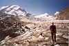 Ivan, Grenz glacier with Liskamm, Castor, Pollux (Wallis,  2003)