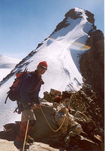 10 Aug. ascent Dufourspitze 4634m. (Wallis,  2003)