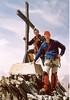 7 Aug. summit  Allalinhorn 4027m. (Wallis,  2003)