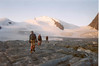 Brittania hutte 3030 - Allalin glacier - Strahlhorn 4190m. (Wallis,  2003)