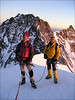 Ascent Zumsteinspitze 4563m. (Wallis 2004)
