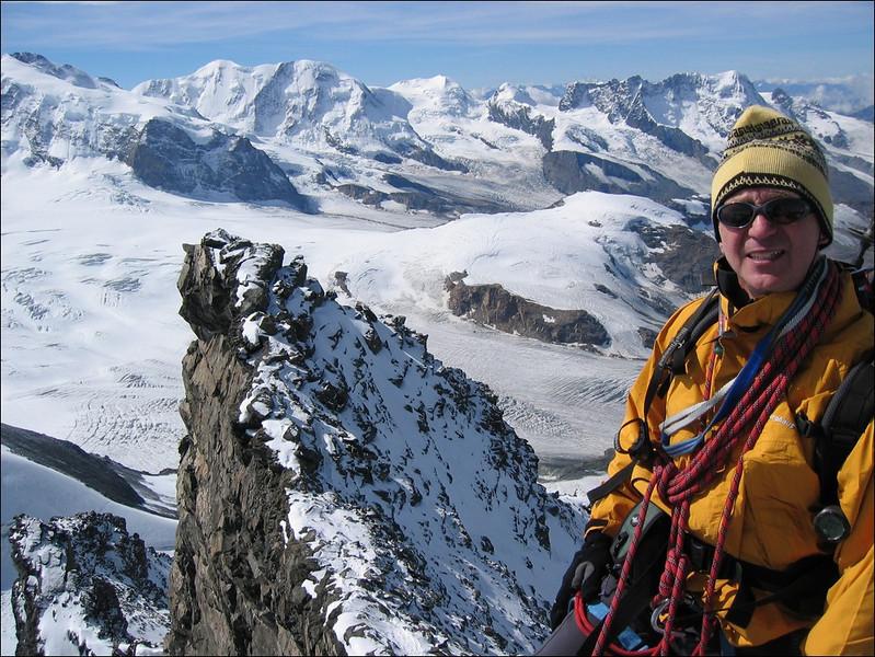 Frank (Wallis 2004, the Rimpfischhorn 4199m.)
