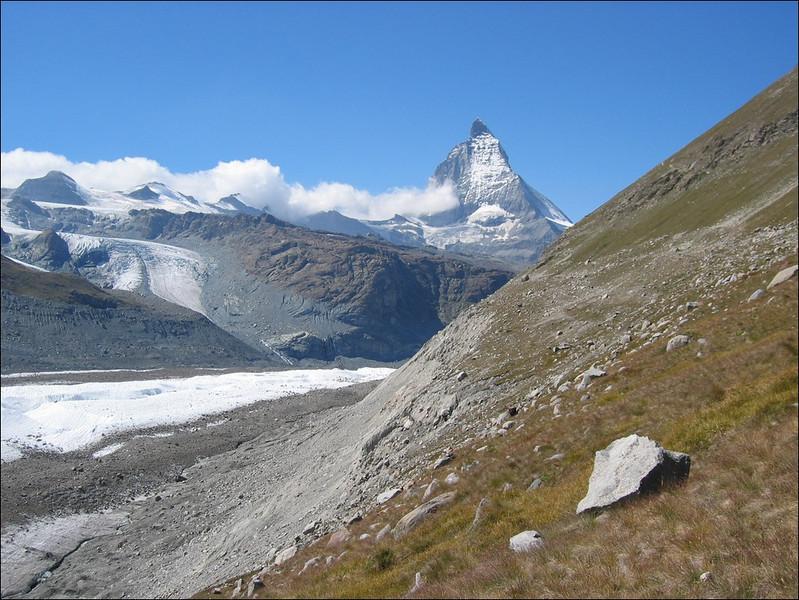 Gornergrat descent to the Grenz glacier (Wallis 2004)
