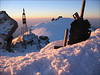 3 Sept. 7.00 AM summit Zumsteinspitze 4563m.  (Wallis 2004)