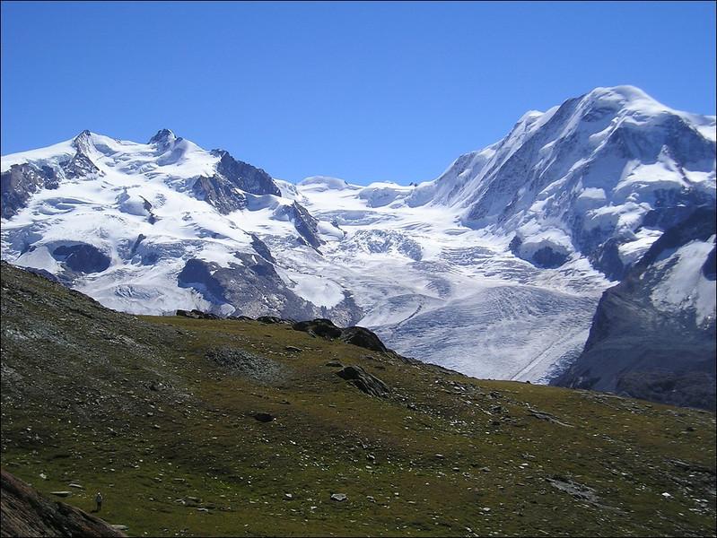 Monte Rosa, Grenz Glacier and Liskamm (Wallis 2004)