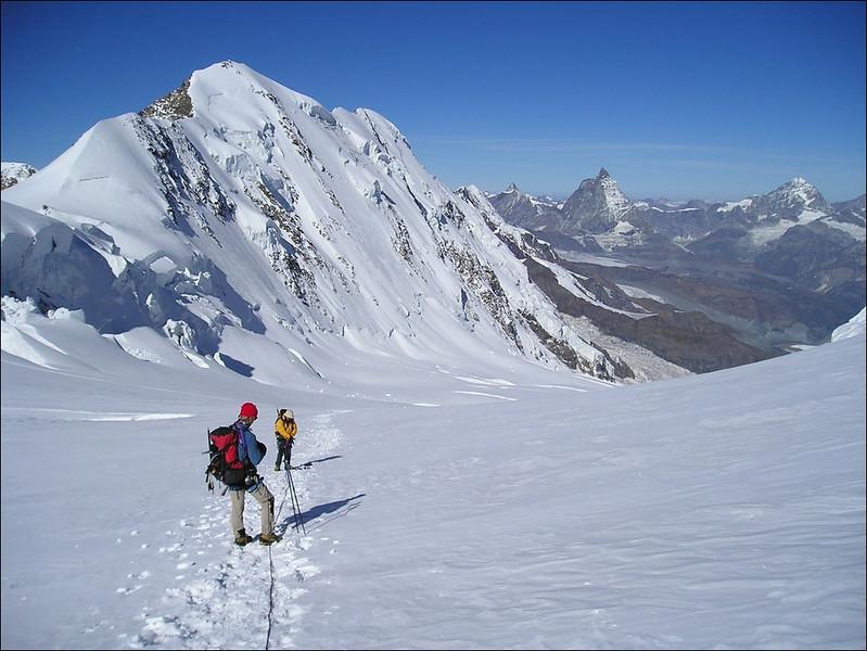Liskamm, Matterhorn and Weisshorn (Wallis 2004)