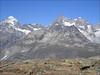 view on Dent Blanche, Obergabelhorn and Wellenkuppe (Wallis 2004)