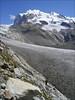 descent Monte Rosahutte SAC 2795m. - Rotenboden station 2815m. (Wallis 2004)