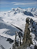S.W.view from the Rimpfischhorn 4199m. (Wallis 2004)