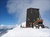 the highest situated hut of the Alps: Rif. Regina Margherita CAI 4554m. (Wallis 2004)