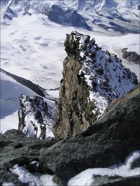 Rimpfischhorn 4199m. (Wallis 2004)