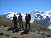 Station Rotenboden Gornergrat 2815m - Monte Rosa hutte 2795m. (Wallis 2004)