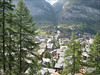 Rotenboden 2815m (Gorner bergbahn) - Zermatt 1672m. (Wallis 2004)