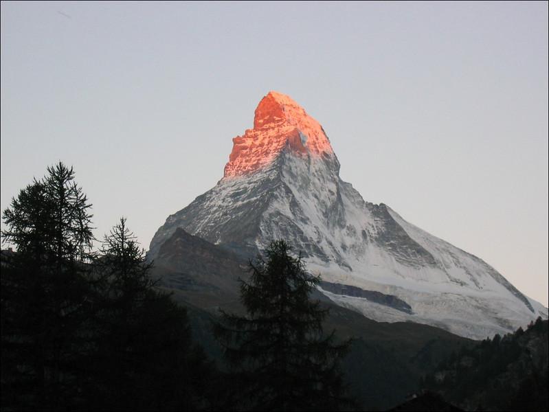 sunset Zermatt (Wallis 2004)