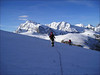 ascent of the Rimpfischsattel 3990m. (Wallis 2004)