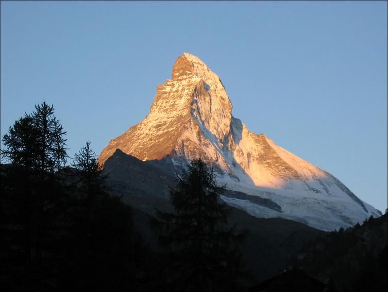 last view on the Matterhorn (Wallis 2004)