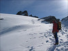 ascent to the Rimpfischhorn 4199m. (Wallis 2004)