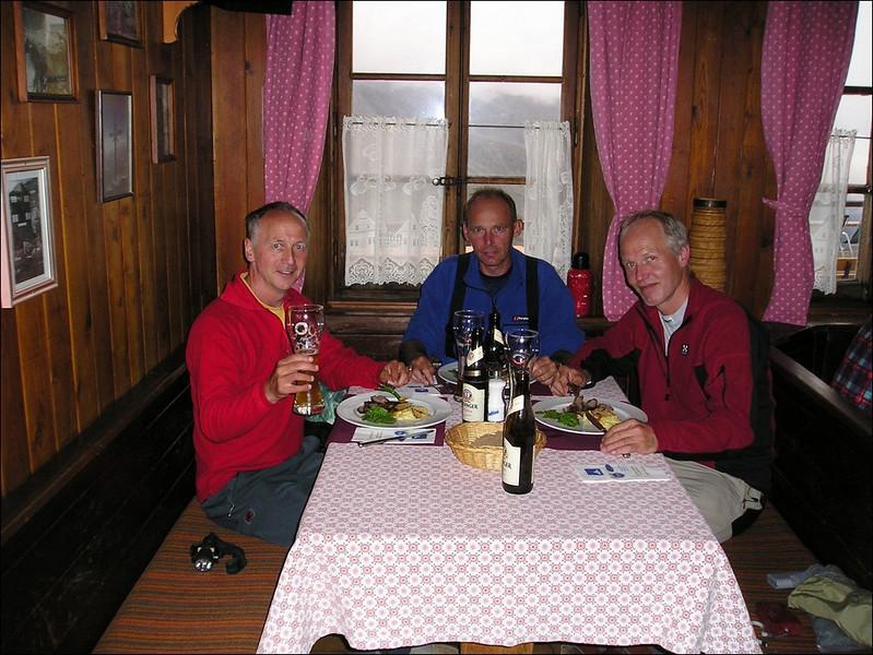 29 - 30 Aug. Fluealp 2648m. (Wallis 2004)