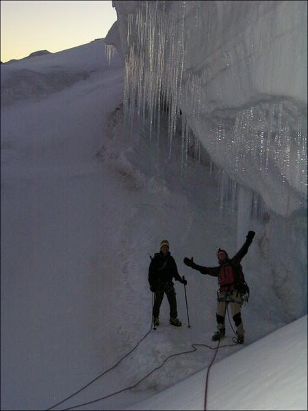 Grenz glacier (Wallis 2004)