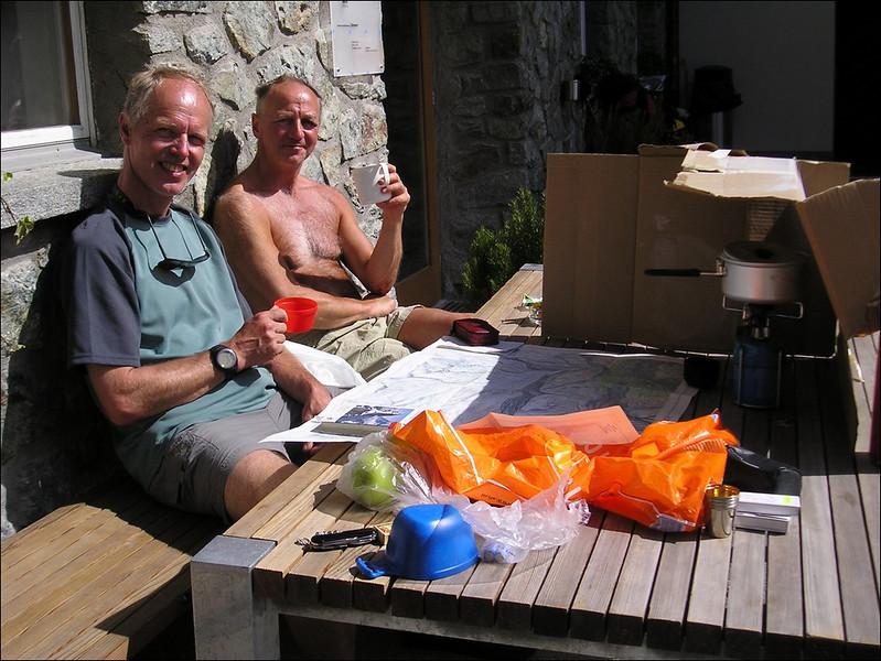 rest day, Fluhalp (Wallis 2004)